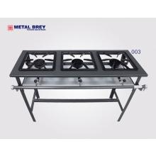 Fogão 03 bocas Linha Stand Metal Brey