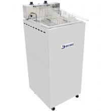 Fritadeira retangular  água e óleo FBA08 Beccaro