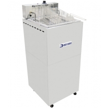 Fritadeira retangular  água e óleo FBA05 Beccaro
